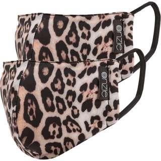 Onzie Gesichtsmaske Damen leopard