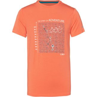 CMP T-Shirt Kinder flash orange