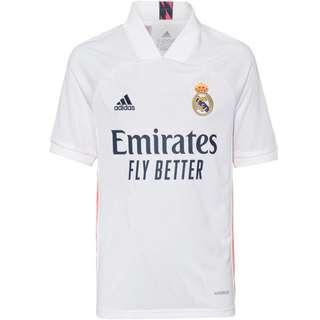 adidas Real Madrid 20-21 Heim Trikot Kinder white