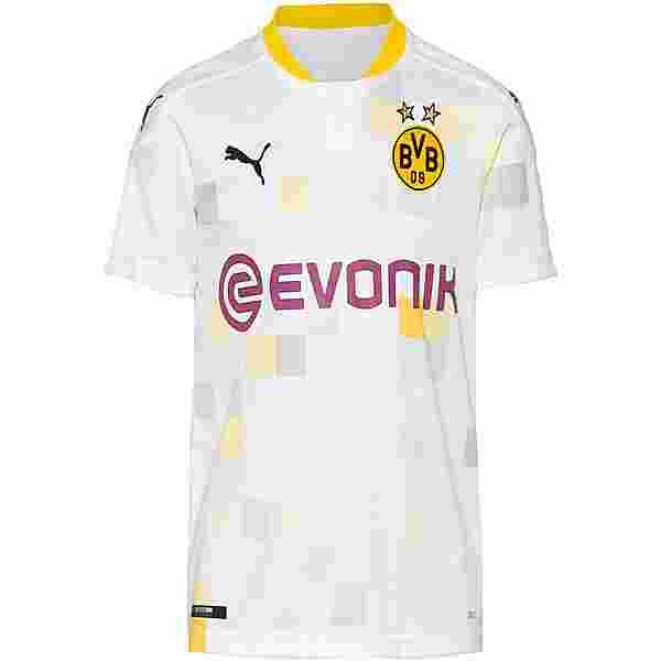 PUMA Borussia Dortmund 20-21 3rd Trikot Kinder puma white