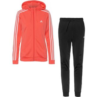 adidas Trainingsanzug Damen top:semi flash red bottom:black