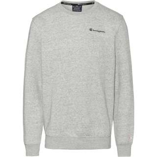 CHAMPION Sweatshirt Herren new oxford grey melange yarn dyed