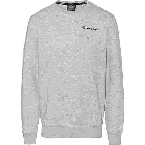 CHAMPION Sweatshirt Herren new oxford grey melange yarn dyed