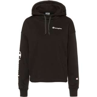CHAMPION Hoodie Damen black beauty