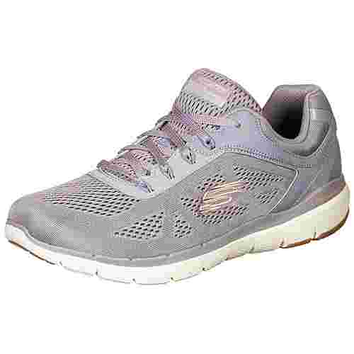 Skechers Flex Appeal 3.0 Moving Fast Fitnessschuhe Damen lila