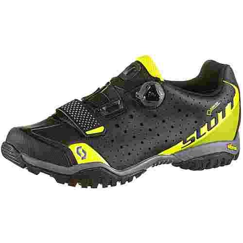 SCOTT GTX® Sport Trail Evo Fahrradschuhe Herren caviar black;sulphur yellow
