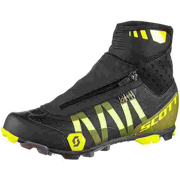 SCOTT GTX Mtb Heater Fahrradschuhe Herren black-sulphur yellow