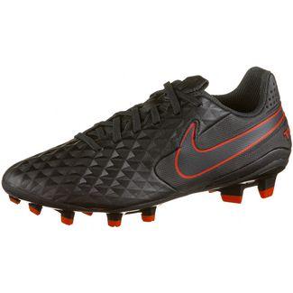 Nike Tiempo Legend 8 Academy MG Fußballschuhe black-dk smoke grey-chile red
