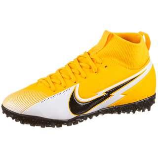 Nike Jr. Mercurial Superfly 7 Academy TF Fußballschuhe Kinder laser orange-black-white-laser orange