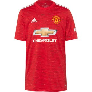 adidas Manchester United 20-21 Heim Fußballtrikot Herren real red