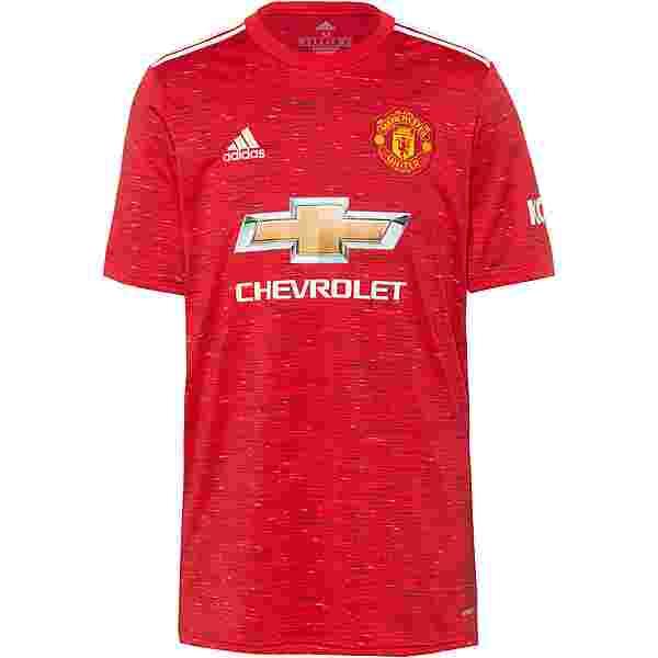 adidas Manchester United 20-21 Heim Trikot Herren real red
