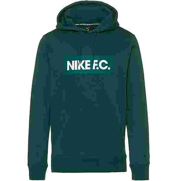 Nike FC Hoodie Herren dk atomic teal-white-dk atomic teal