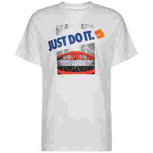 Nike Dry Just Do It Basketball Shirt Herren weiß
