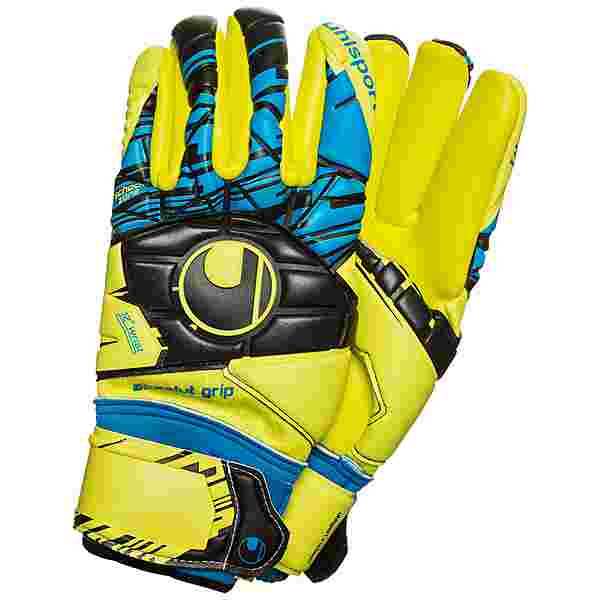 Uhlsport Speed Up Now Absolutgrip Finger Surround Torwarthandschuhe Herren gelb / blau