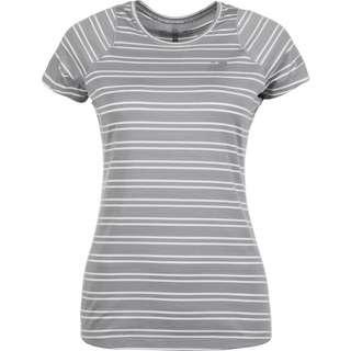 NEW BALANCE Seasonless Laufshirt Damen grau / weiß