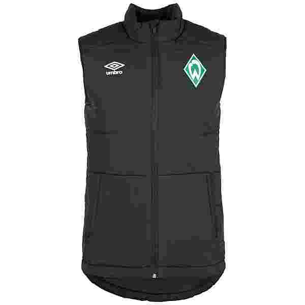 UMBRO SV Werder Bremen Padded Trainingsjacke Herren schwarz