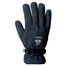 OCK Fleece Outdoorhandschuhe schwarz