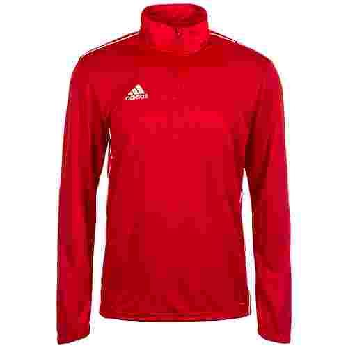 adidas Core 18 Funktionsshirt Herren rot / weiß