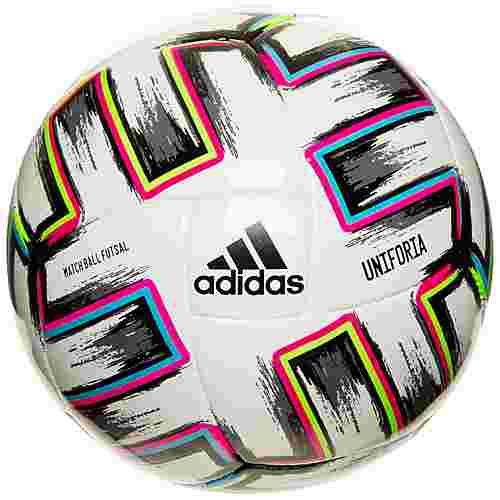 adidas Uniforia Pro Sala EM 2021 Fußball weiß / bunt