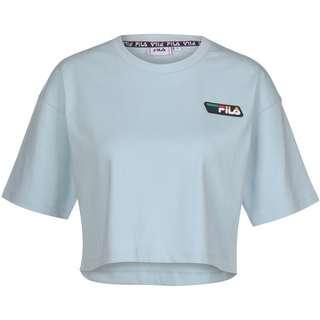 FILA Olympe Cropped T-Shirt Damen blau