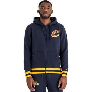 New Era NBA Stripe Rib Cleveland Cavaliers Sweatjacke Herren oceanside blue