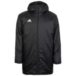 adidas Core 18 Outdoorjacke Herren schwarz / weiß