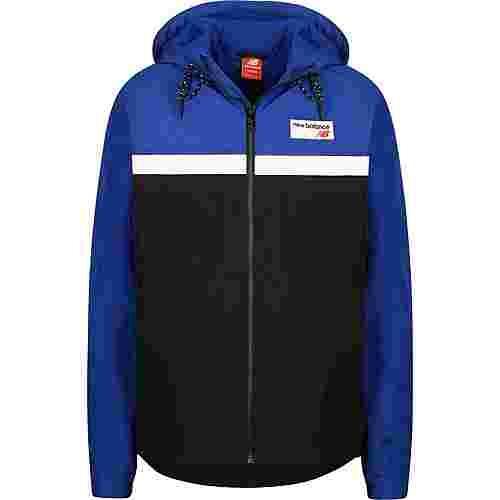 NEW BALANCE MJ73557 Windbreaker Herren blau/schwarz
