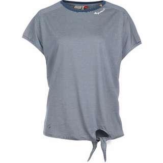 Ragwear Bolivia W T-Shirt Damen blau/weiß/gestreift