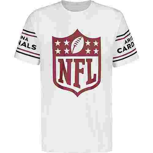New Era NFL Badge Arizona Cardinals T-Shirt Herren weiß