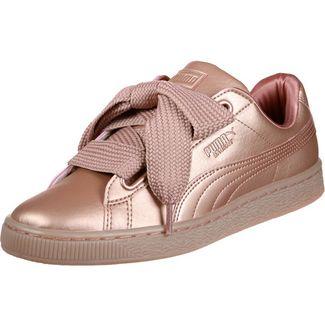 PUMA Basket Heart Copper W Sneaker Damen kupfer