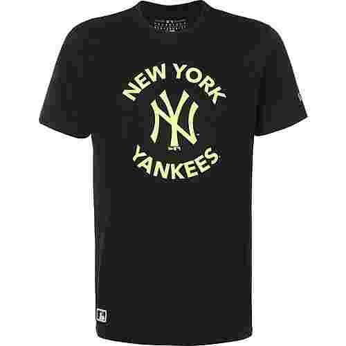 New Era MLB New York Yankees T-Shirt Herren schwarz