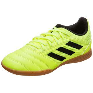 adidas Copa 19.3 Sala Fußballschuhe Kinder neongelb / schwarz