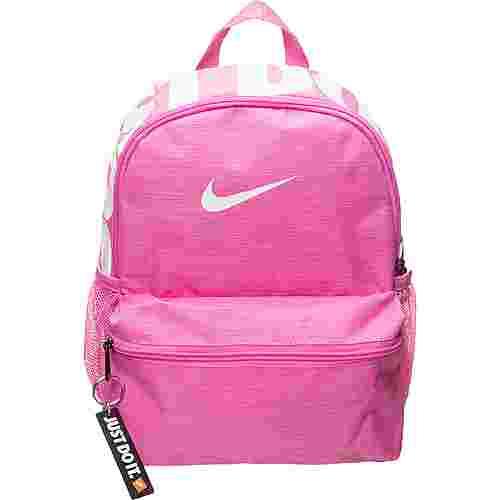 Nike Rucksack Brasilia Daypack Kinder rosa / weiß