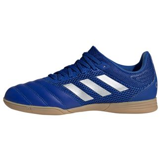 adidas Copa 20.3 Sala IN Fußballschuh Fußballschuhe Kinder Royal Blue / Silver Metallic / Royal Blue