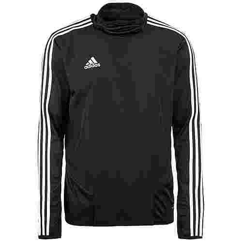 adidas Tiro 19 Warm Funktionsshirt Herren schwarz / weiß