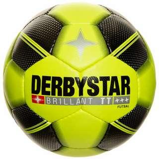 Derbystar Brillant TT Futsal Fußball neongelb / schwarz