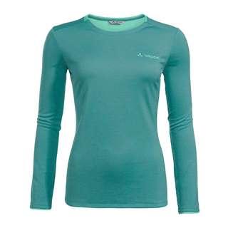 VAUDE Women's Essential LS T-Shirt T-Shirt Damen peacock