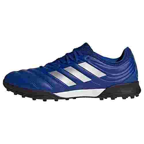 adidas Copa 20.3 TF Fußballschuh Fußballschuhe Herren Royal Blue / Silver Metallic / Core Black