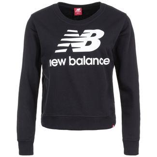 NEW BALANCE Essentials Crew Sweatshirt Damen schwarz