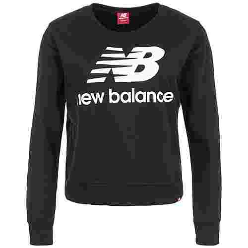 NEW BALANCE Essentials Crew Sweatshirt Damen schwarz