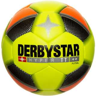 Derbystar Hyper TT Futsal Fußball neongelb / neonorange