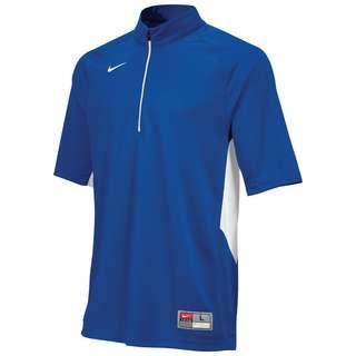 Nike Stock Victory Shooting Basketball Shirt Herren blau / weiß