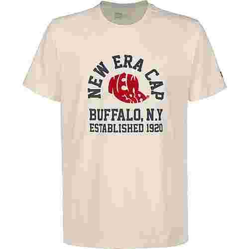 New Era Heritage T-Shirt Herren beige