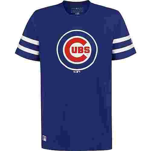 New Era MLB Team Logo Chicago Cubs T-Shirt Herren blau