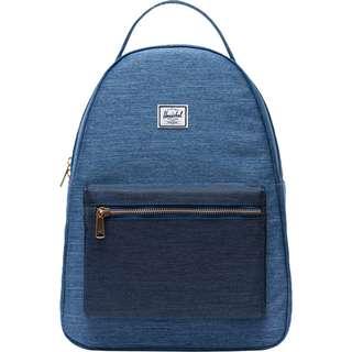 Herschel Rucksack Nova Mid-Volume Daypack blau / dunkelblau