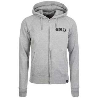 Bolzr Trainingsjacke Trainingsjacke Herren grau / schwarz