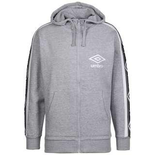 UMBRO Taped FZ Trainingsjacke Herren grau / weiß