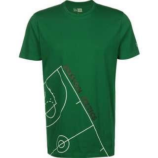 New Era NBA Court Philadelphia 76ers T-Shirt Herren grün