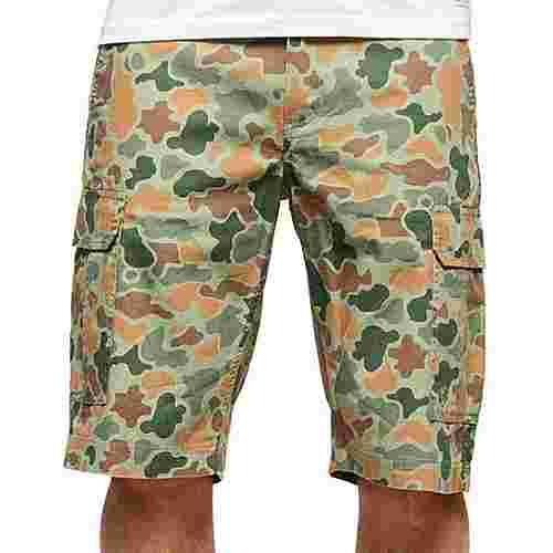 Element Legion Cargo WK II Shorts Herren beige/oliv/braun