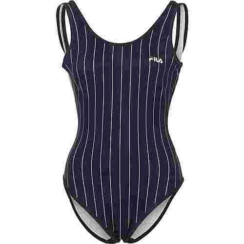 FILA Sashi Bodysuit Damen blau/gestreift